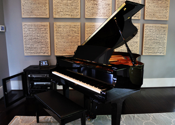Lexicon FW810S FireWire Audio Interface Featured in Innovation House by Insidesign®'s High End Music Room