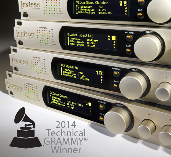 HARMAN WINS 2014 TECHNICAL GRAMMY® AWARD FOR LEXICON AUDIO BRAND