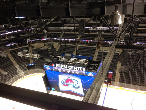 Great Sound Is In the Can At Pepsi Center With HARMAN's BSS Audio, Crown and JBL Professional