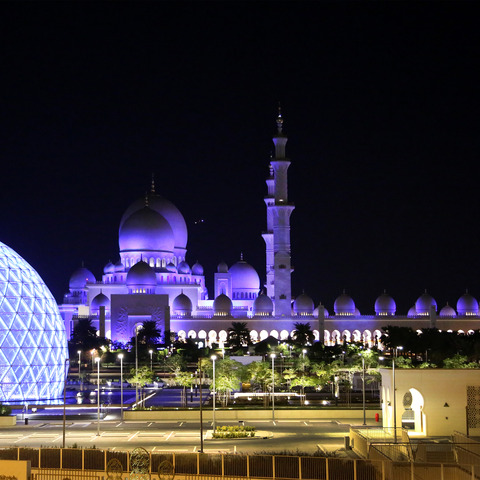 Martin Professional Middle East Helps Sheikh Zayed Grand Mosque Shine Bright with Martin By HARMAN