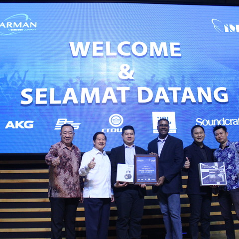 HARMAN Professional Solutions Realigns Pro Audio Distribution in Indonesia