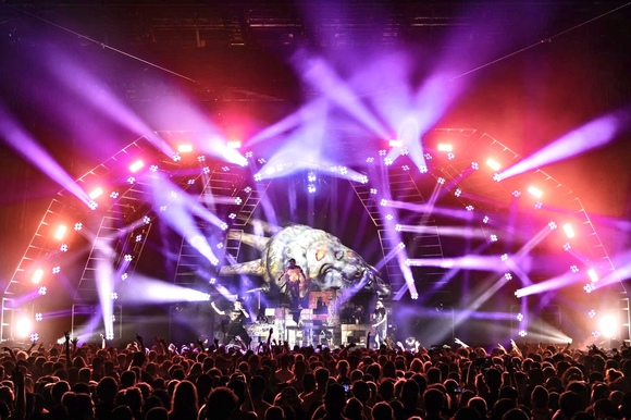 Beast Coast Delivers Electrifying Concert Lighting with Martin By HARMAN Lighting Fixtures