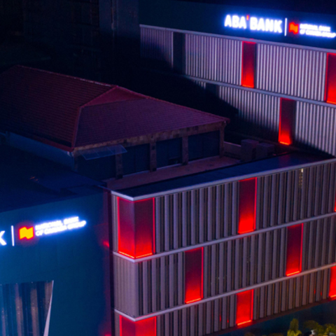 World-Class Lighting Solutions from Martin Professional Transform ABA Bank, Illuminating the Skyline of Phnom Penh