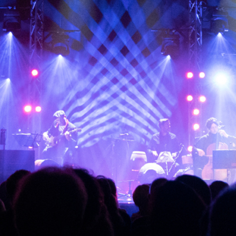 Penguin Cafe Delivers Electrifying Tour Lighting with Martin by HARMAN