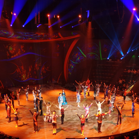 Shanghai Circus World Brings Performances to Life with Martin By HARMAN