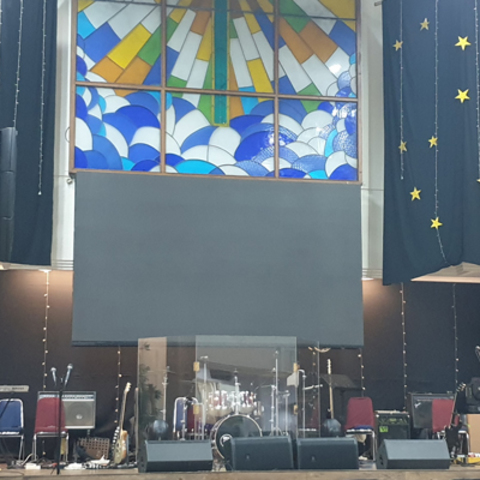 GSJA Bandengan Church Energizes Sermons with HARMAN Professional Solutions