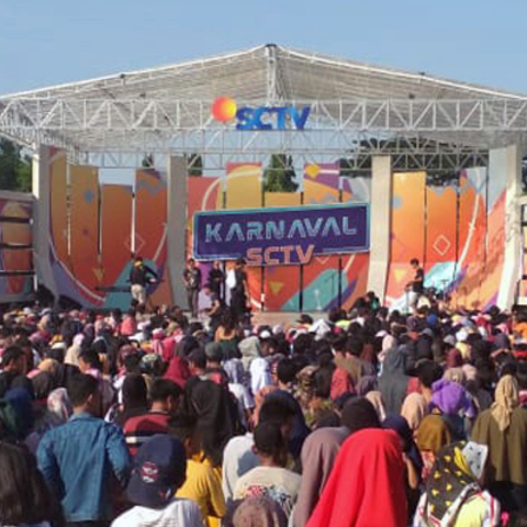 Karnaval SCTV Celebrates Lubuklinggau Anniversary with Show-Stopping Performances Powered by JBL Professional