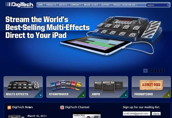 DigiTech Launches New Website for Enhanced User Experience