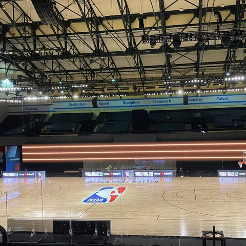 Firehouse Productions Brings Live Energy to NBA Bubble With JBL Professional Audio Solutions