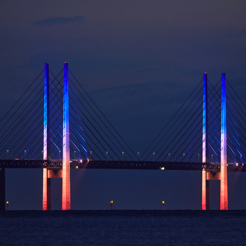 Øresund Bridge Lights the Way for Travelers Between Sweden and Denmark With Martin Lighting Solutions