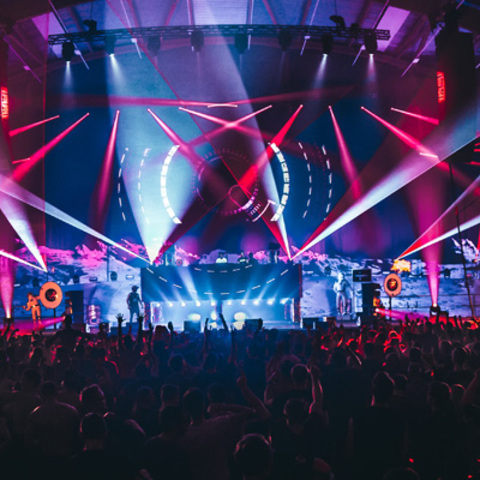 Aairport Festival Transports EDM Fans to New Heights With Martin Lighting Solutions