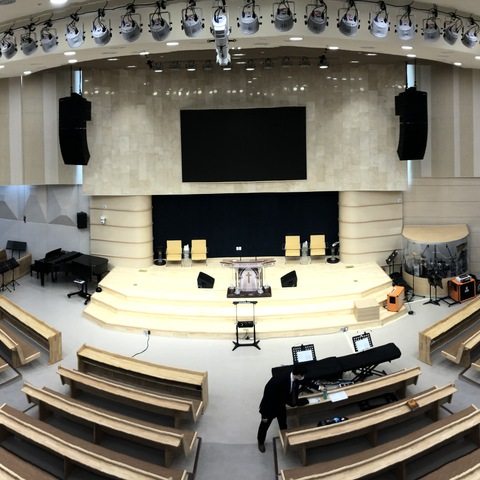 Dongil Church Elevates Services with Pristine Sound Using Cutting-Edge Systems from HARMAN Professional Solutions