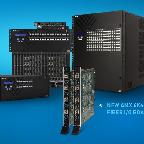 AMX by HARMAN Announces New 4K60 4:4:4 Fiber Boards and Endpoints for Enova DGX 100 Series Enclosures