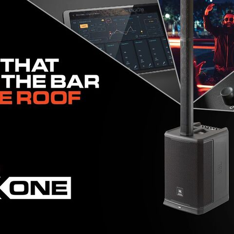 JBL Professional Introduces the PRX ONE All-in-One Portable PA System and Pro Connect Control App