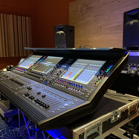 Charles Moniz and Chris Rabold Bring JBL 708P Monitors On Tour With Bruno Mars For Live Mixing and Backstage Recording