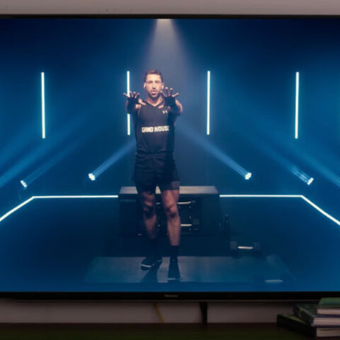 GRNDHOUSE Launches Home Fitness Startup With a Unique Visual Brand Using Martin Professional LED Fixtures