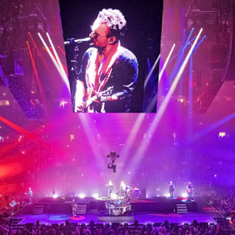 Eric Church Returns to the Road with The Gather Again Tour Featuring Next-Generation Martin Professional Lighting Solutions