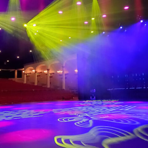 Parker Playhouse Modernizes the Stage With Versatile Lighting Solutions From Martin Professional