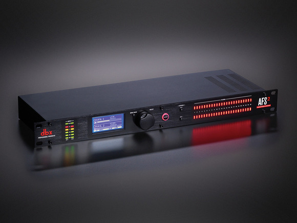dbx Debuts AFS2 Advanced Feedback Suppression™ Processor