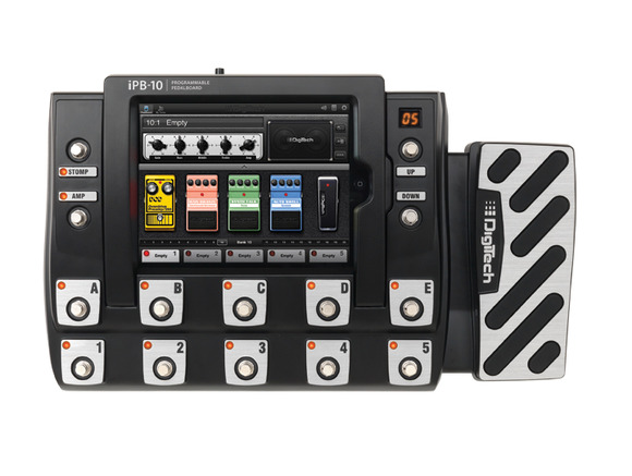 DigiTech® Introduces the iPB-10 -- the World's First Programmable Pedalboard Using the iPad®