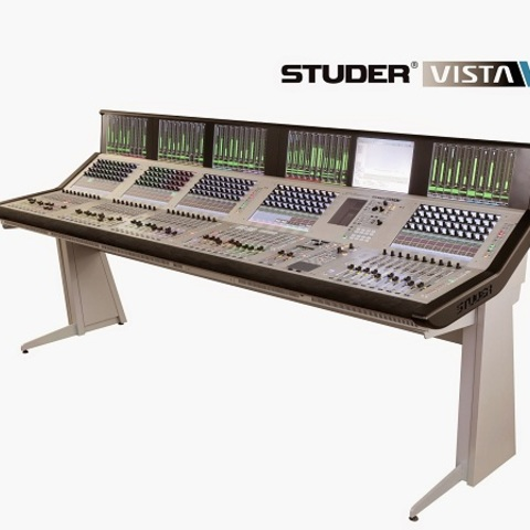 Studer Infinity Series and Vista Digital Consoles get Lexicon PCM96 and UAD Plug-Ins Support and Significant Feature Upgrade
