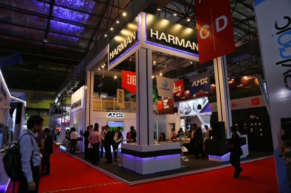 HARMAN Professional Showcases Complete Range of Audio, Lighting and Control Solutions at InfoComm India 2014