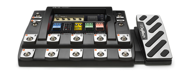DigiTech Now Shipping the iPB-10 Programmable Pedalboard and iPB-Nexus App for iPad® Now Available in App Store