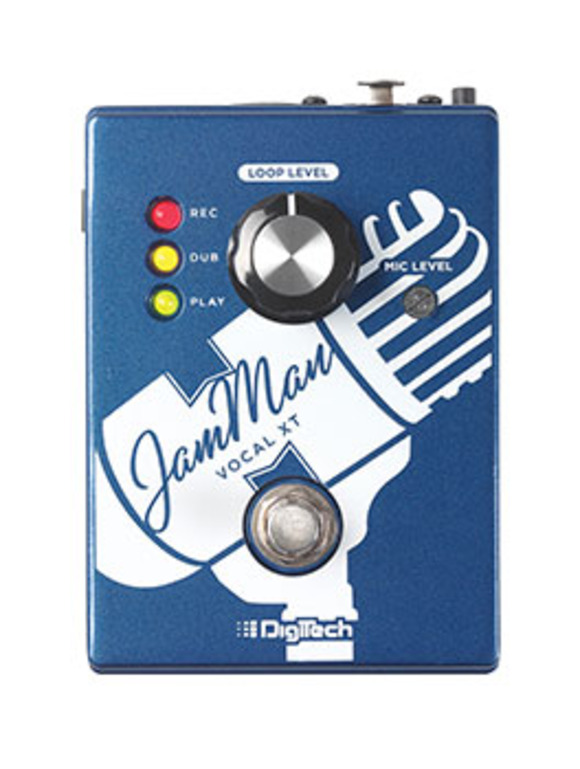 DigiTech Introduces JamMan Vocal XT Stompbox Looper
