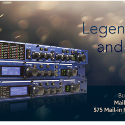 Lexicon Offers Mail-In Rebate With Purchase of MX200, MX300 or MX400 Stereo Reverb/Effects Processors Through December 31, 2014