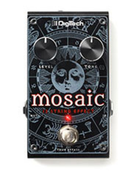 DigiTech Debuts Mosaic Polyphonic 12-String Effect Pedal for Guitar