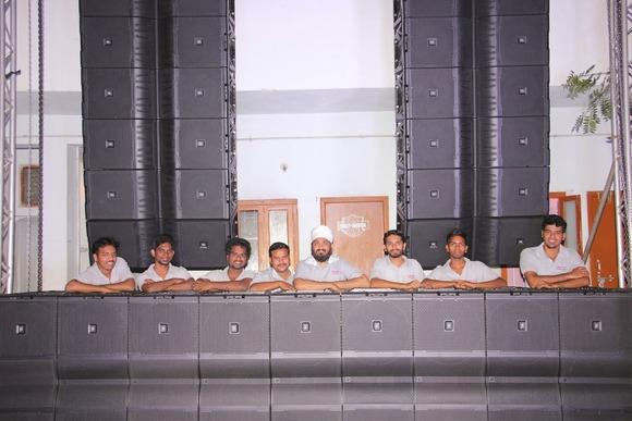 海德拉巴当地的 Namdhari AV 为其库存购入 HARMAN JBL VTX 线性阵列扬声器和 Crown I-Tech HD 功放
