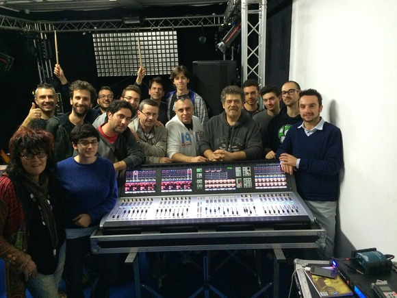 HARMAN Professional Powers Italian Digital Audio Training Session At Acoustic Light