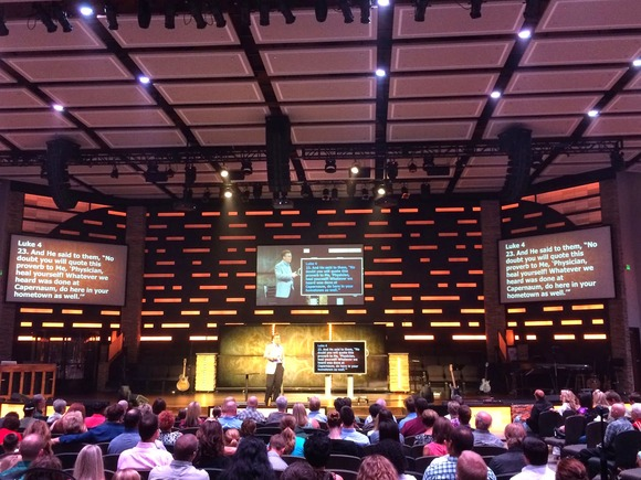 Paragon 360 Completes Total Audio Overhaul at Enid, Oklahoma's Emmanuel Baptist Church With HARMAN's Crown Amplifiers, BSS Audio Processing and JBL Loudspeakers