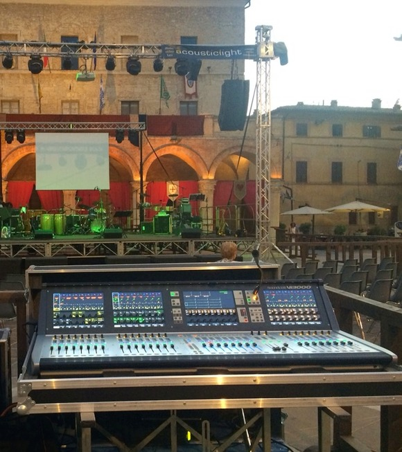 Acoustic Light Turns New Page With HARMAN Soundcraft Vi3000 Console