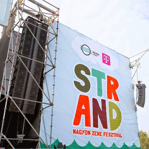 JBL Line Arrays and Crown Amplifiers Provide Soundtrack for Hungarian Summer Festivals
