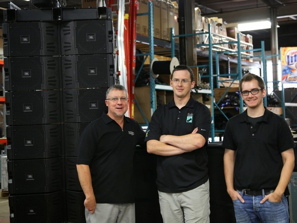 Studio Gear of Milwaukee Keeps On Growing With HARMAN's JBL VTX Line Arrays and Crown I-Tech HD Amplifiers