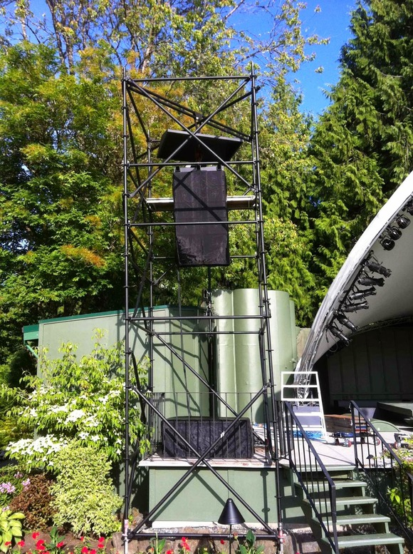 DL Sound & Lighting Productions Gives Butchart Gardens Great Sounds for the Summer with HARMAN's JBL VTX Line Arrays and Crown I-Tech HD Amplifiers