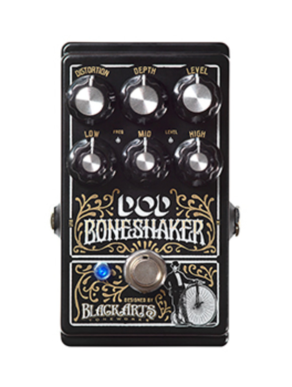 Get Ready for A Rough Ride: DOD Debuts Boneshaker Distortion Pedal