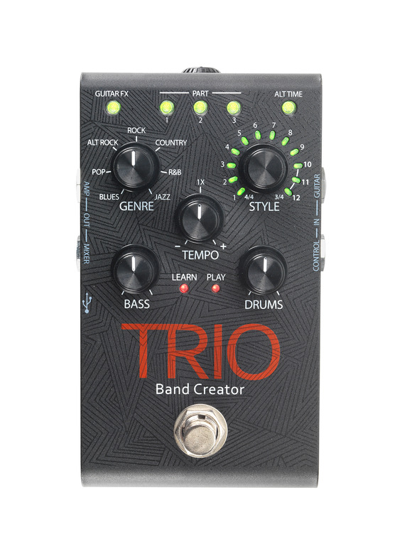 DigiTech Debuts TRIO Band Creator: A Band Inside a Stompbox