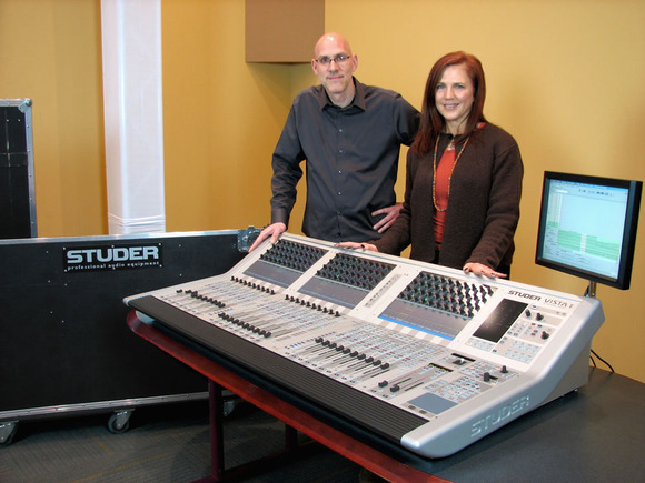 Dale Pro Audio and HARMAN's Studer Announce Brand-New Partnership as Dale Takes Delivery of Studer Vista 1 Digital Console