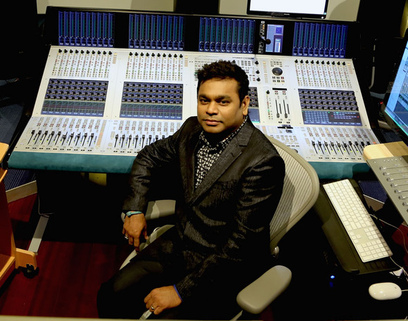 Legendary Artist AR Rahman Adopts the HARMAN Studer Vista X Digital Console