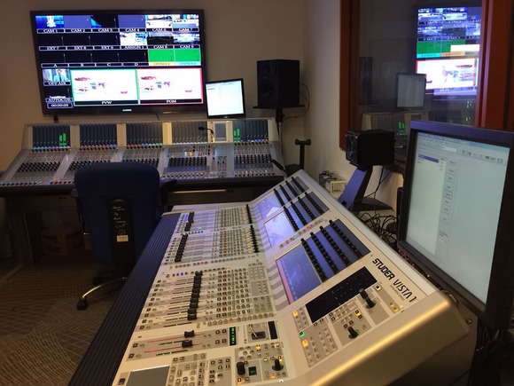 Middle East Broadcasting Center Achieves Remarkable Audio Quality and Speedy Workflow with HARMAN Studer Vista Digital Consoles