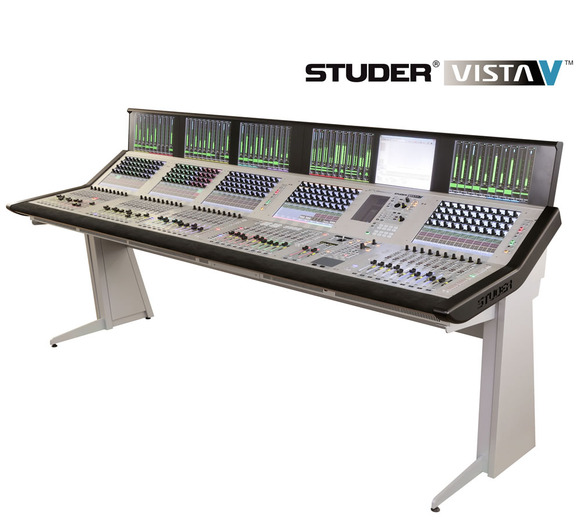 Studer Vista V Digital Console Makes Middle East Debut at Sharjah TV