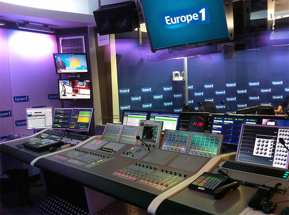 French Radio Station Europe 1 Upgrades Audio with HARMAN's Studer OnAir 3000 Digital Consoles