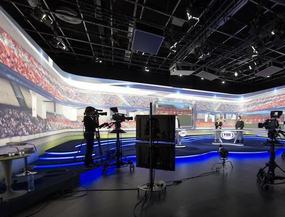 New Endemol Sport Studios Back HARMAN Studer Vista 5 Digital Consoles