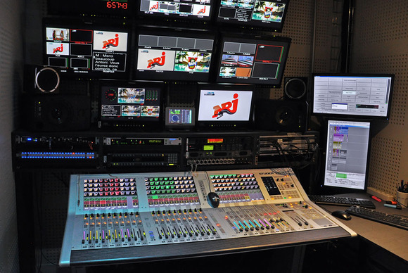 NRJ TV Finds Versatile Solution in HARMAN Studer Vista 1 Digital Console
