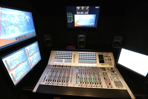REC4BOX OB Factory Shakes Canadian Mobile TV Production Industry with HARMAN's Studer Vista 1 Mixing Console