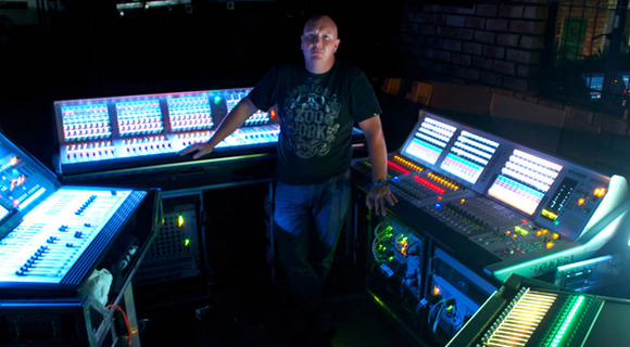 Marius Marais Adds HARMAN's Studer Vista 5 SR to Soundcraft Vi and Si Compact Inventory for big South African Shows