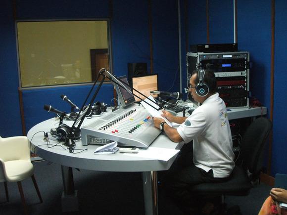 Mahajak Trio Supplies HARMAN Studer OnAir 2500 to RTB Tutong Studio
