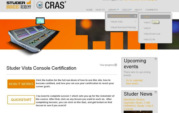 Studer Now Offering Popular Broadcast Academy Sessions Online at StuderBroadcastAcademy.com